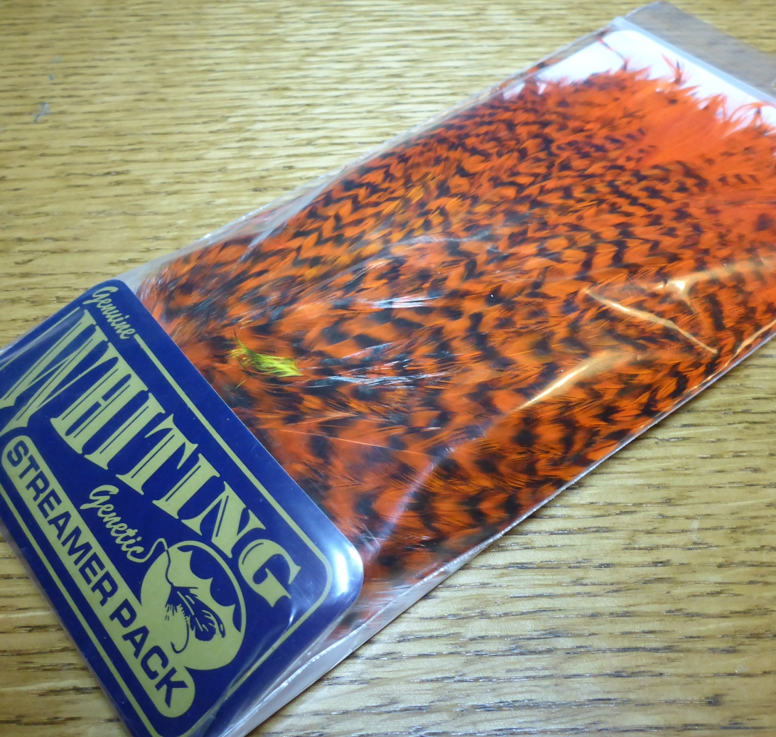 WHITING FARMS WHITING STREAMER PACK FLY TYING FEATHERS AUSTRALIA TROUTLORE
