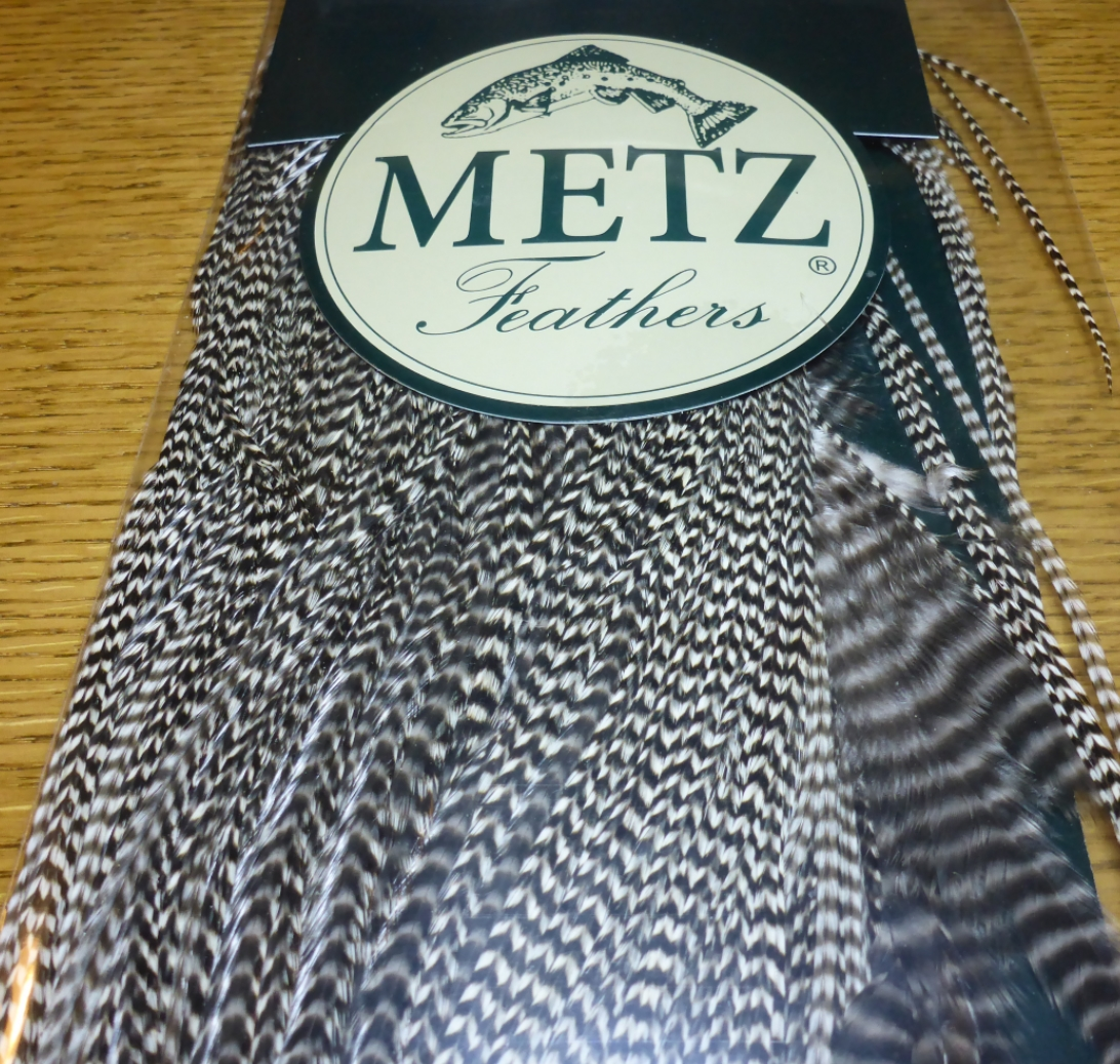 metz #1 saddle grizzly