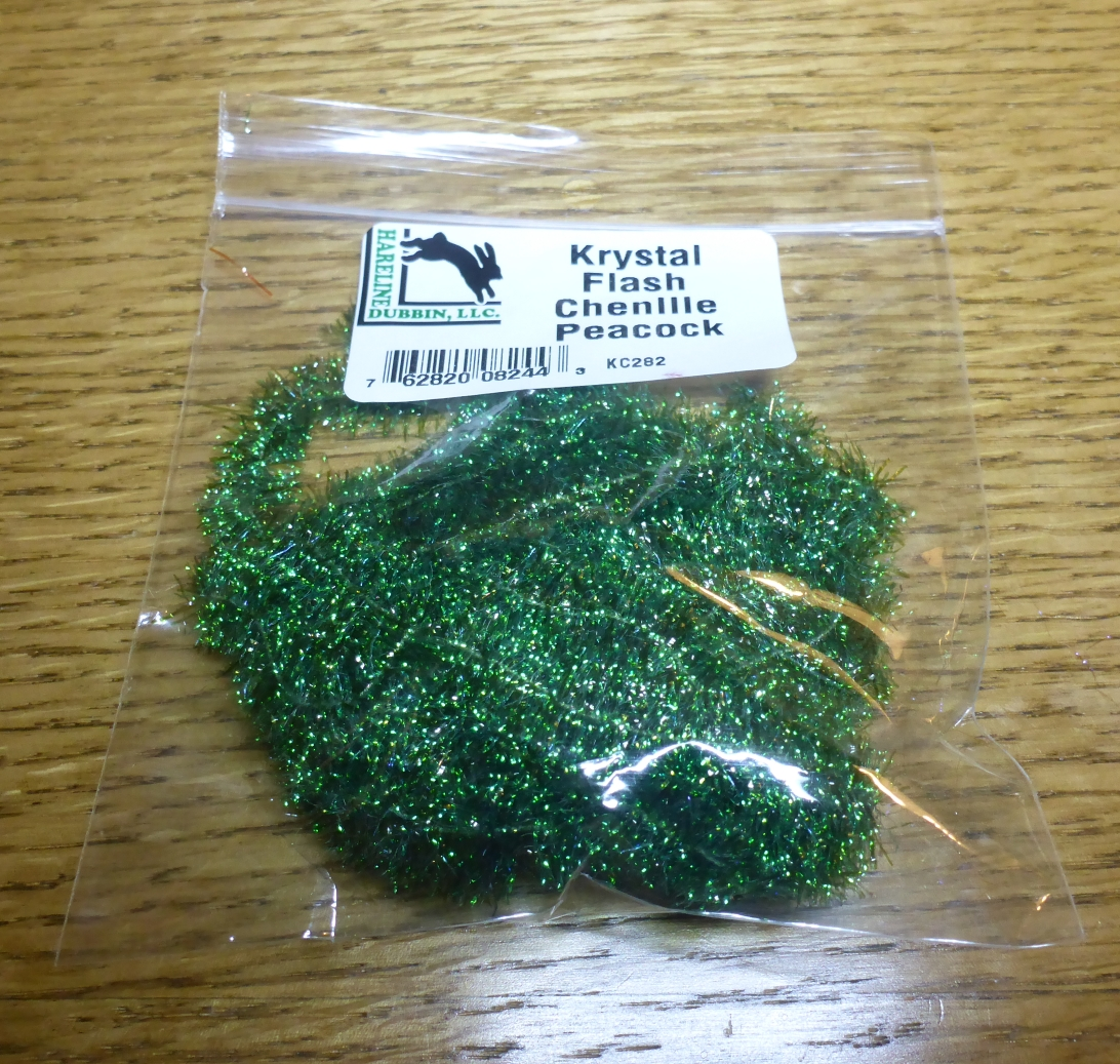 Hareline Dubbin Krystal Flash for Fly Tying
