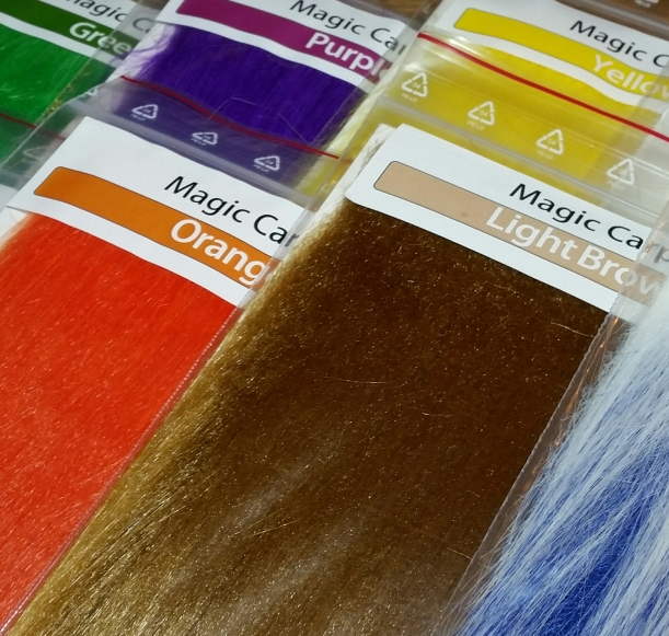 """YELLOW    Big Patch Fly Tying Synthetics /""""  EXTRA SELECT CRAFT FUR /""""  FL"""
